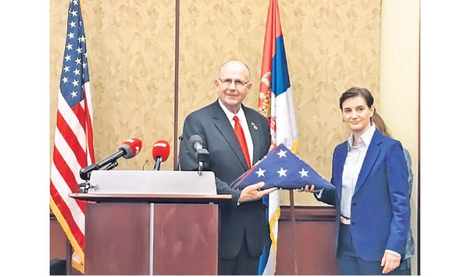 Brnabic: Serbian US Relations Can Get Back to Peak Levels