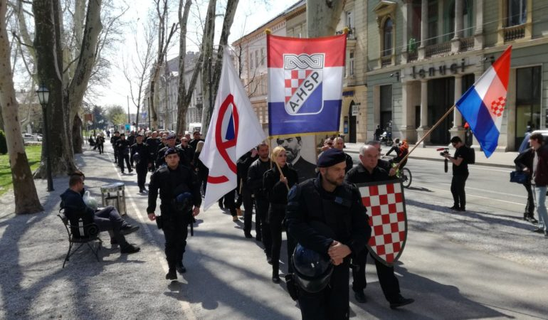 "Far Right Party Marches Through Zagreb… US Embassy Condemns ""neo-nazi march"""