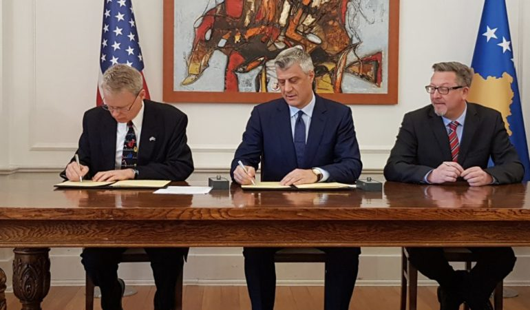 $30 million Grant for USAID Activities in Kosovo