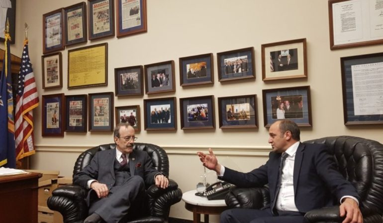 Congressmen Engel – Kosovo must have its own army and should be granted the visa free travel