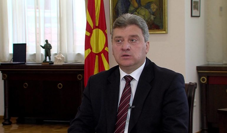 Macedonian President Ivanov – Greece shouldn't hold Macedonia hostage for NATO