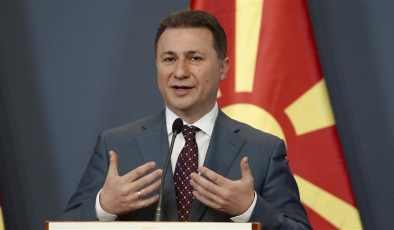 Macedonia Formally Demands Fugitive Former Prime Minister Returned