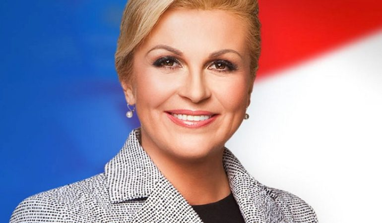 President Kolinda Grabar-Kitarovic Meets UN Sec. Gen. Guterres, Talks Hague Verdicts