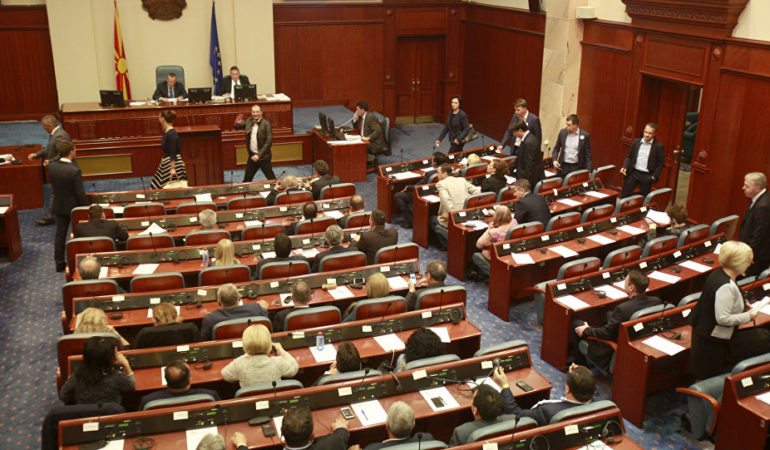 Macedonian Parliament Ratifies Name Deal for Second Time