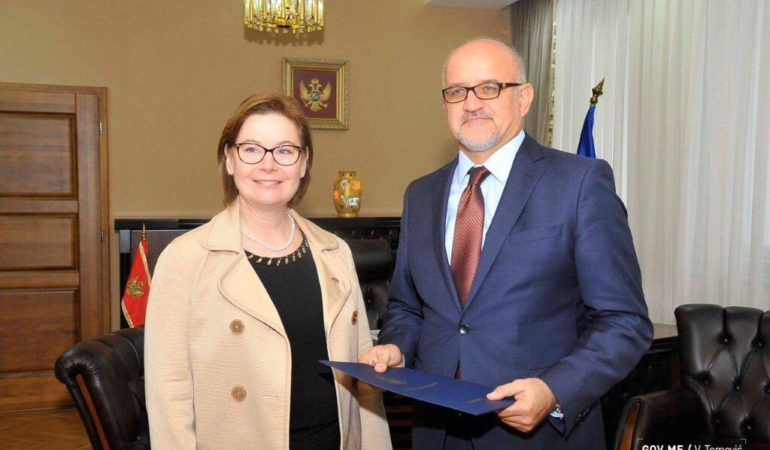 New US Ambassador to Montenegro Meets Montenegrin Foreign Minister