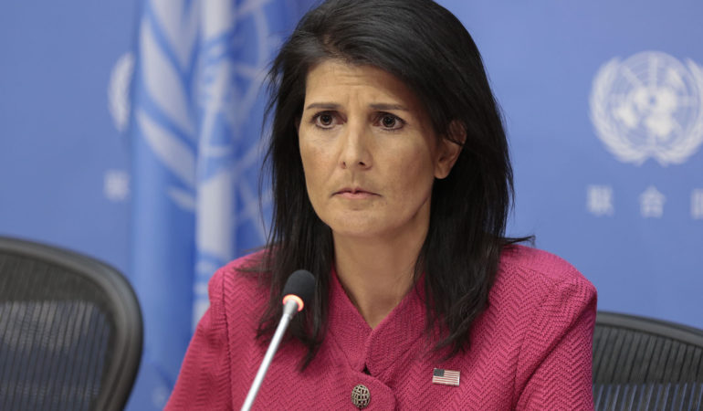 Nikki Haley's Last Stand Over Kosovo