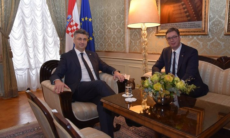PM Plenkovic Presses Vucic on Reparations