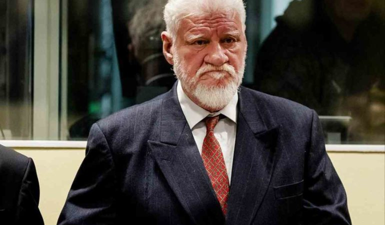 Ceremony for Praljak Held in Zagreb