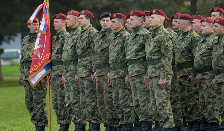 Serbian Army Going to Somalia