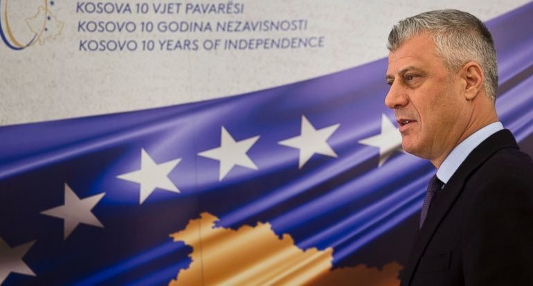 "Thaci: This Meeting With Vucic ""Most Difficult"""