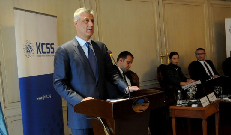 Thaci – KSF to Army Will Benefit Region