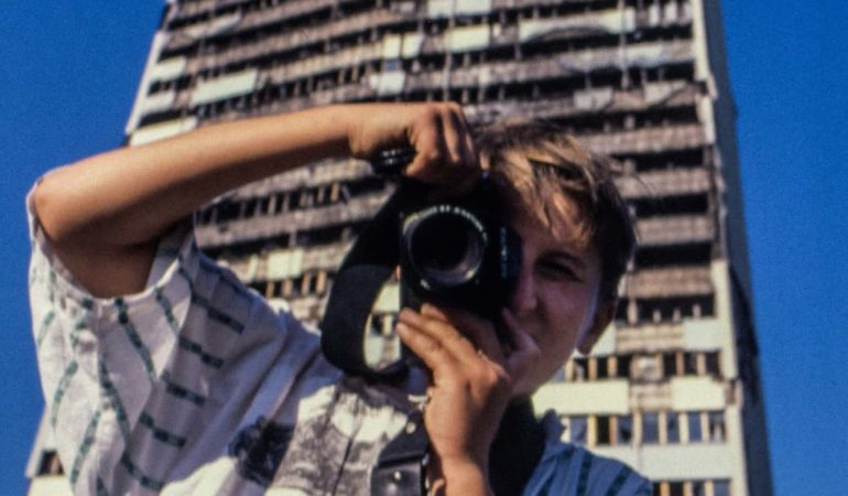 WEEKEND READ via The Guardian: War-torn Sarajevo's camera kids, then and now – a photo essay