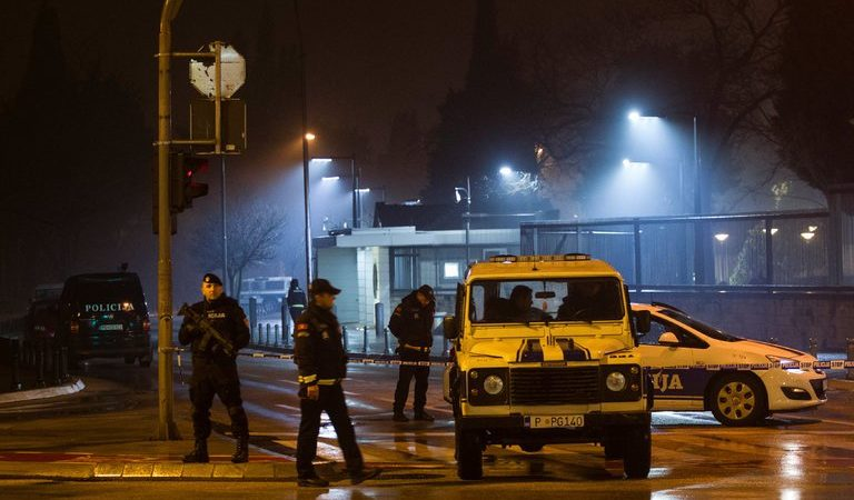 US Embassy in Montenegro Attacked