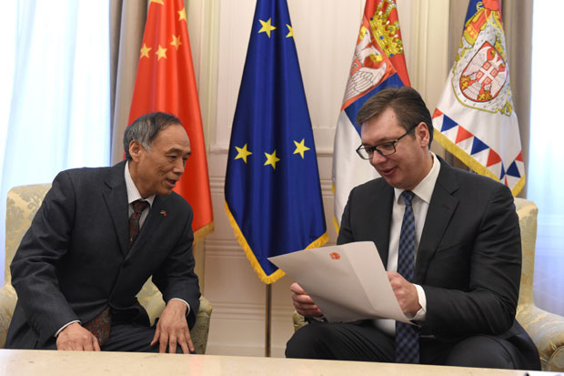 Vucic – Serbia-China Relations Like Steel