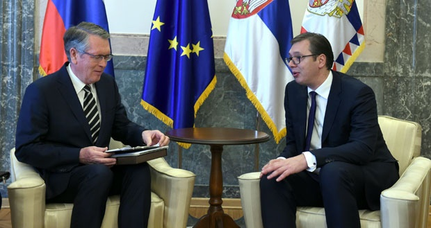 Vucic Meets Russian Amb. Chepurin to Plan for Dec. Trip
