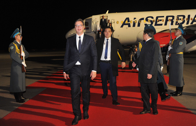 Vucic Doesn't Share Same Optimism as Trump