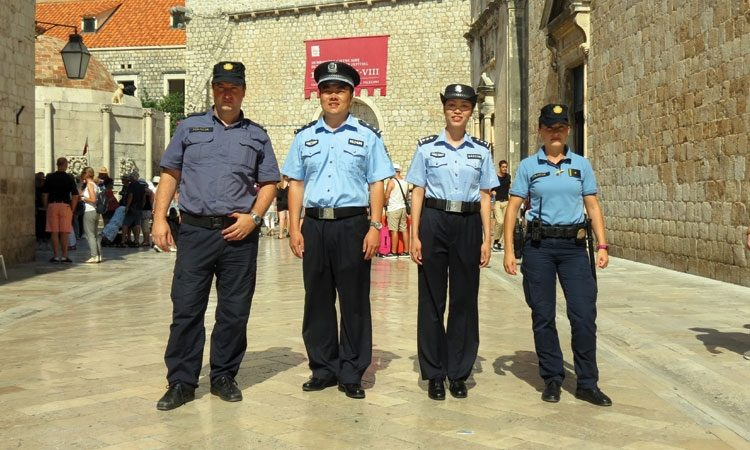First Croatian-Chinese Joint Police Patrol Concludes