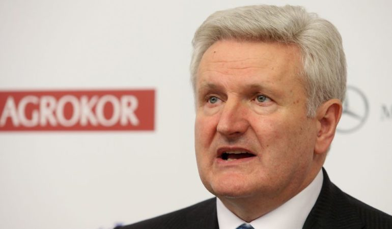 AGROKOR: Ivica Todoric Turns Himself In